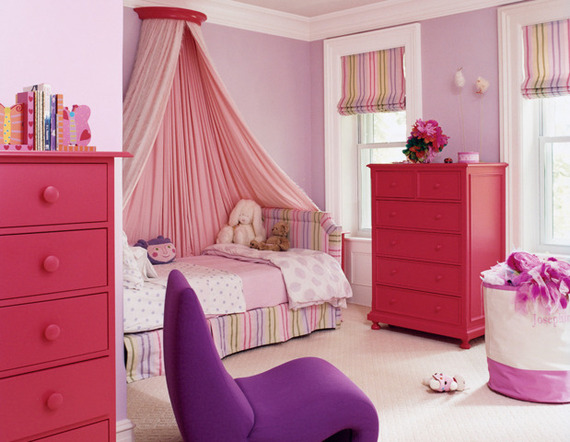 Paint Colors For Girls Bedroom 10 perfect little girls' room paint colors | huffpost