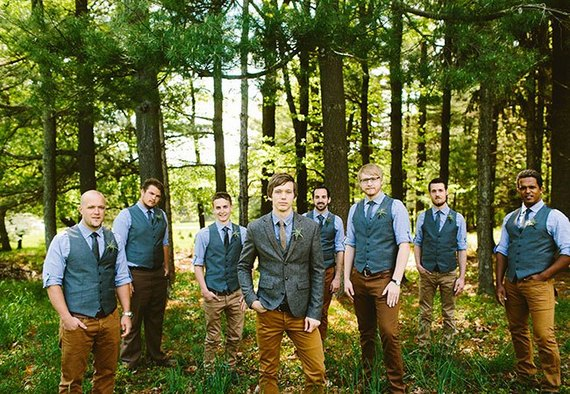 The Latest Groom Trend Lumberjack Chic Huffpost