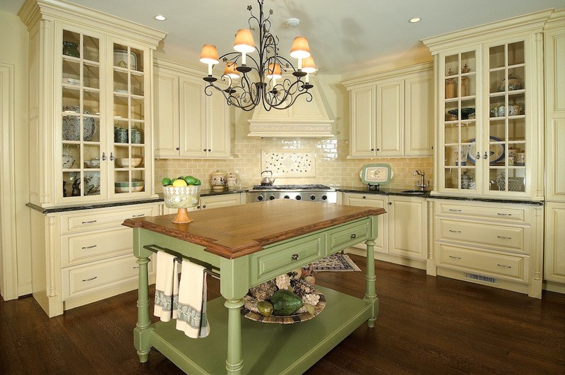 green kitchen island color spotlight eight ways to decorate with green huffpost 1415