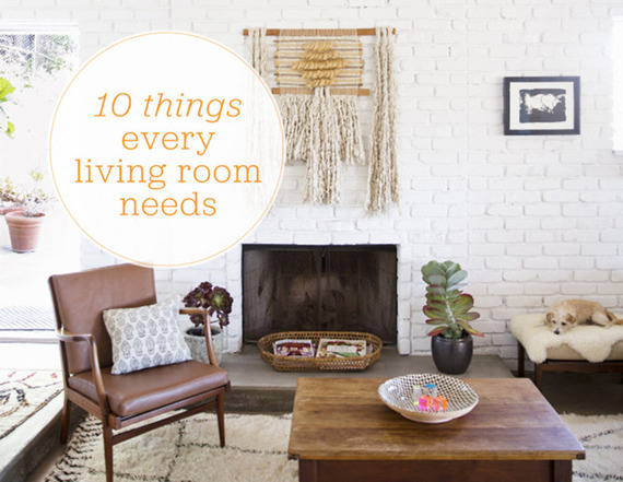 10 things every living room needs 15 minute news for Living room channel 10 codeword