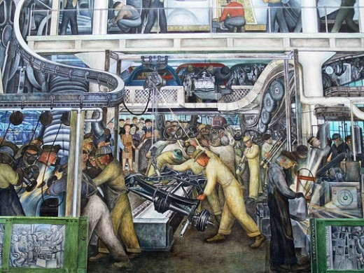 A lesson from detroit america 39 s heart and soul huffpost for Diego rivera detroit mural