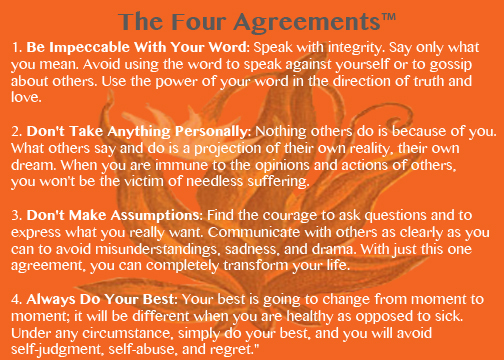The Four Agreements For Business Huffpost
