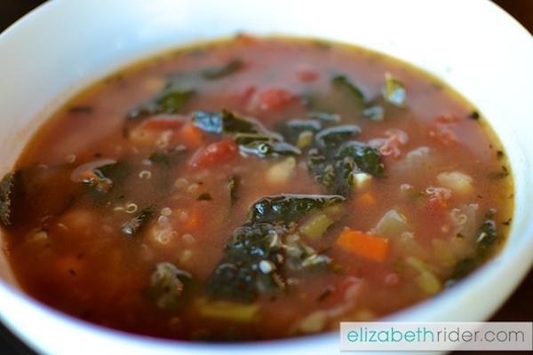 recipe: simple minestrone soup [21]