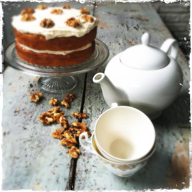 Easy Coffee and Walnut Cake Recipe | The Huffington Post