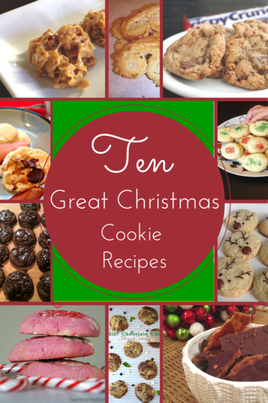 Ten Christmas Cookie Recipes to Try