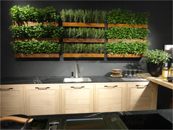 Big ideas for micro living trending in north america for Kitchen herb garden