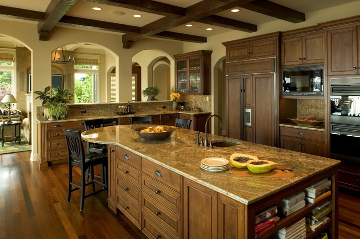 6 dream kitchens for holiday cooking and entertaining for Dream kitchens