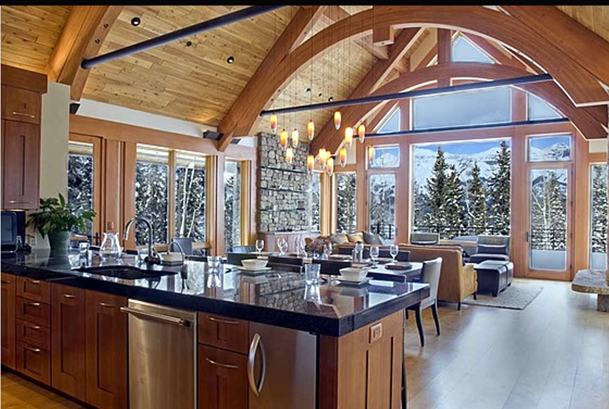 6 dream kitchens for holiday cooking and entertaining for Kitchen kitchen