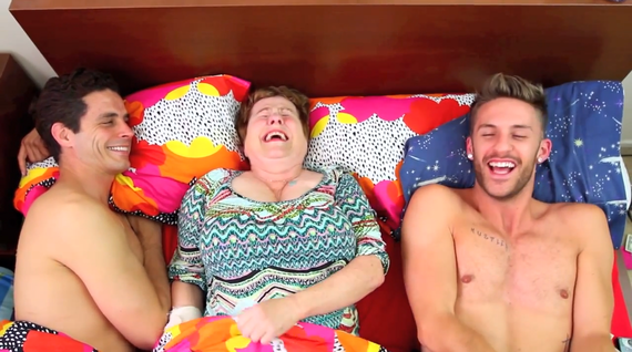 Images Go-Go Boy Interrupted Bloopers (VIDEO) | HuffPost 1 gay