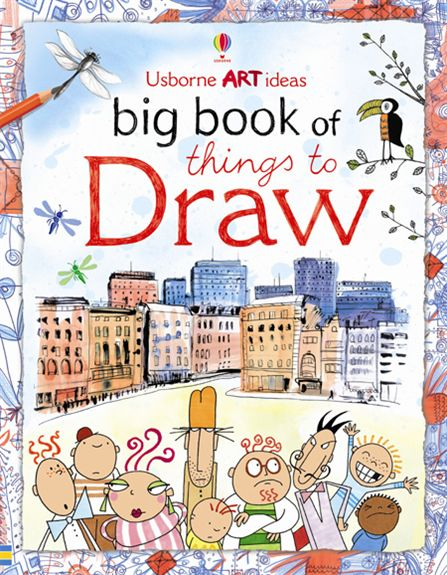 the big book of draw by usborne 2014 11 24 bigbookthingsdrawjpg - Children Drawing Books