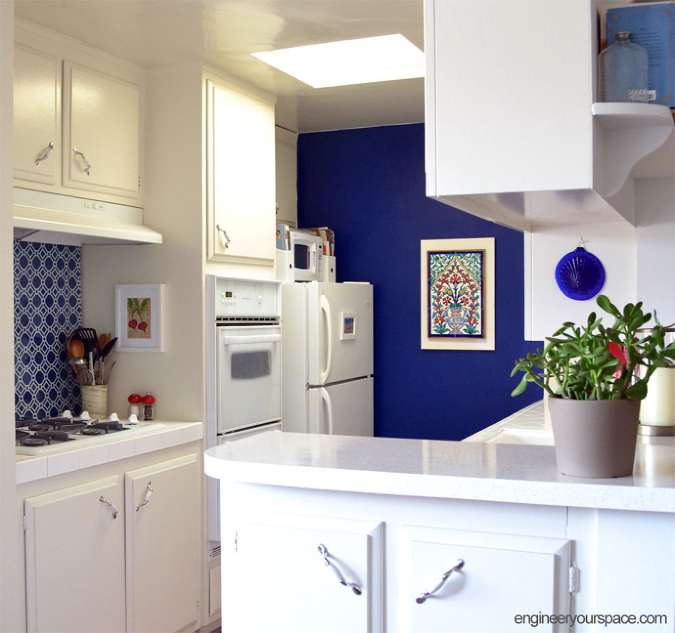 Kitchen Backsplash For Renters The Renters Guide To Diy Mini Makeovers Huffpost