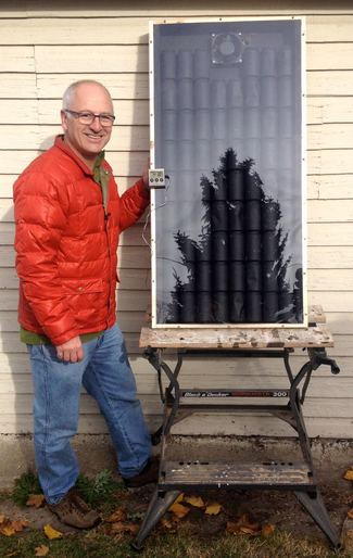 How We Made Our Own Solar Air Heater for Under
