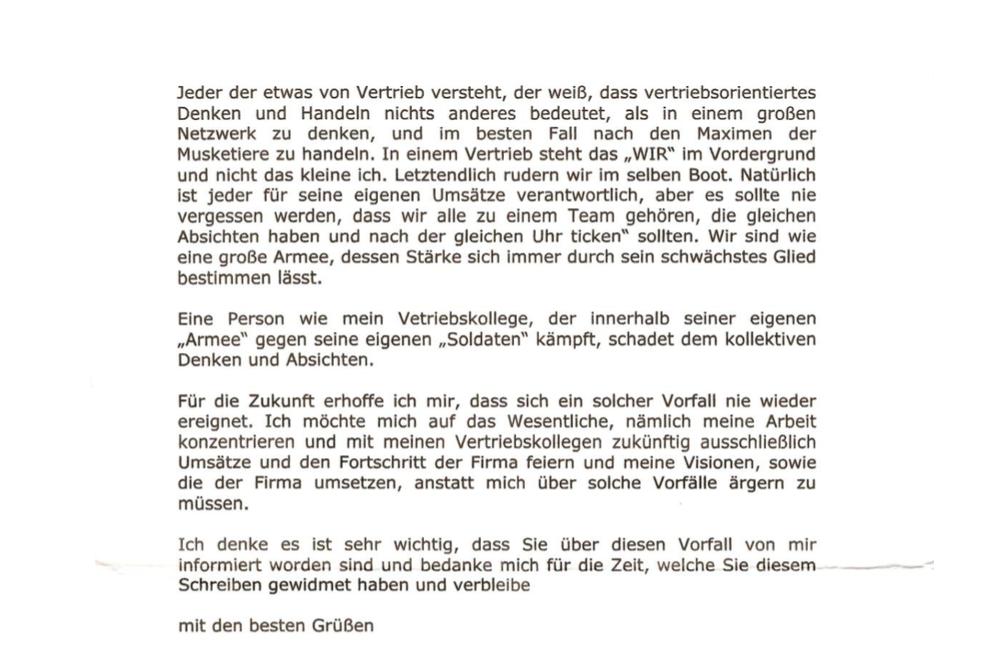 Offener Brief An Die Firma Die Mich Zum Opfer Von Rassismus Machte