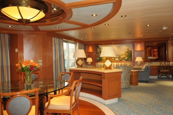 The Best Cruise Ship Suites Huffpost