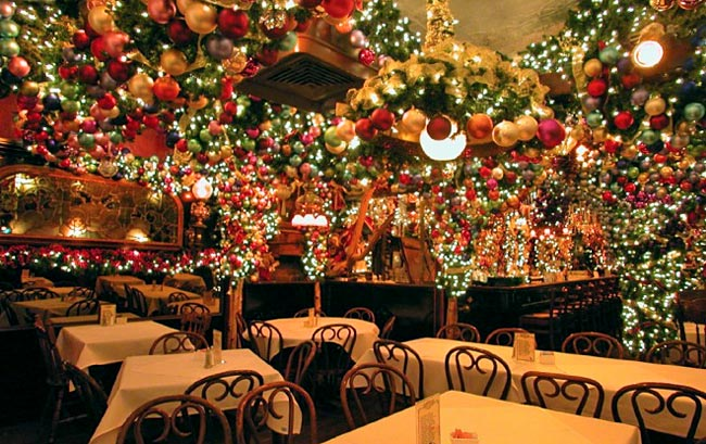 Best Holiday Bars in New York City  HuffPost ~ 031218_Christmas Decoration Ideas For A Restaurant