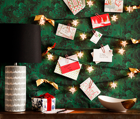 New Twists On The Holiday Card Display Huffpost
