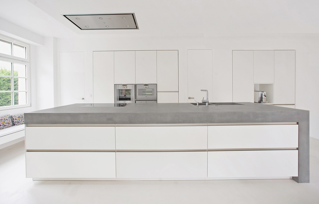 wie ihr eure vier w nde mit beton versch nern k nnt. Black Bedroom Furniture Sets. Home Design Ideas