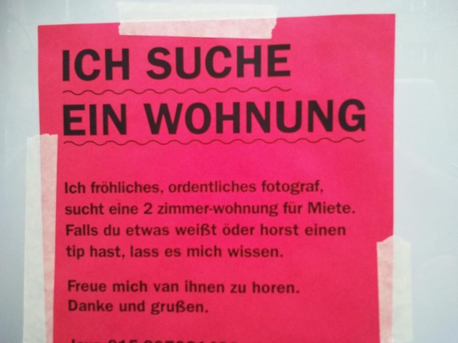 6 zettel die zeigen wie wohnungssuche in berlin wirklich for Wohnungssuche zu mieten
