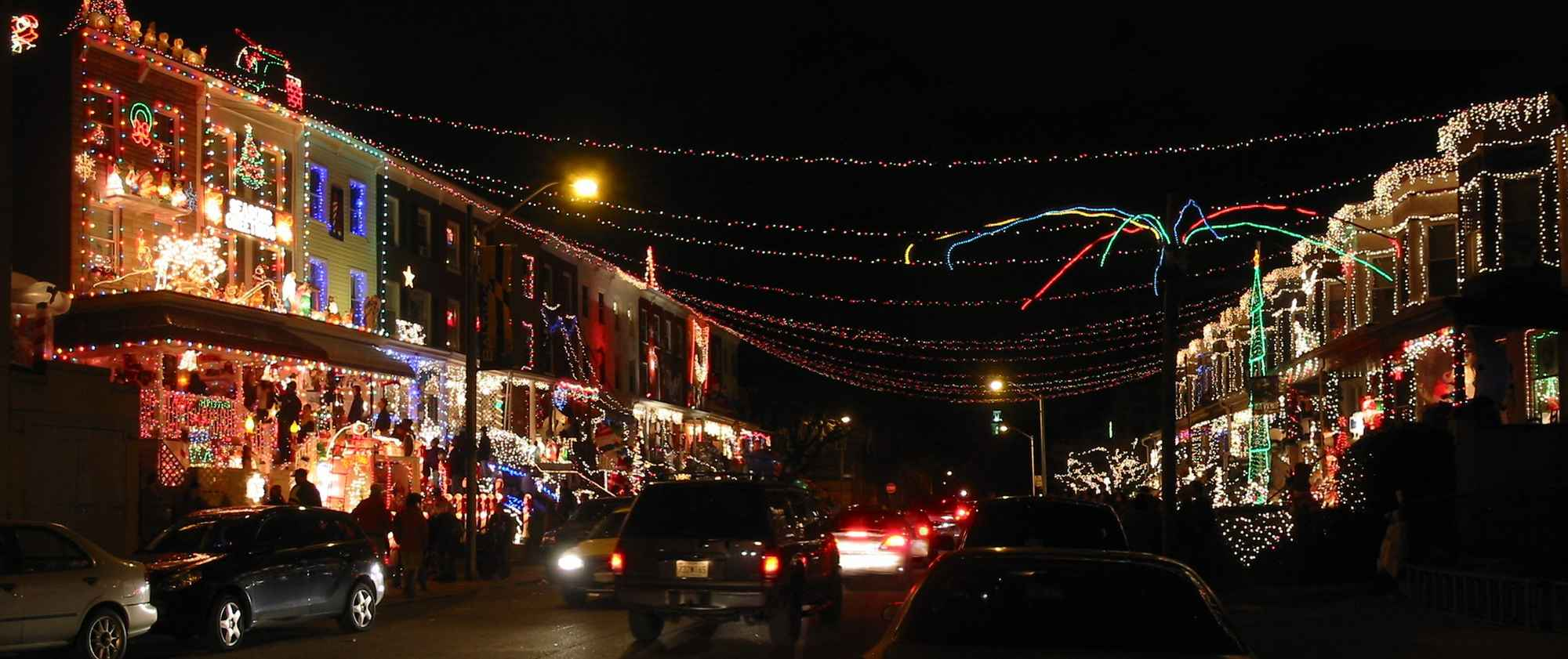 America\'s Best Streets for Christmas Lights | HuffPost Life