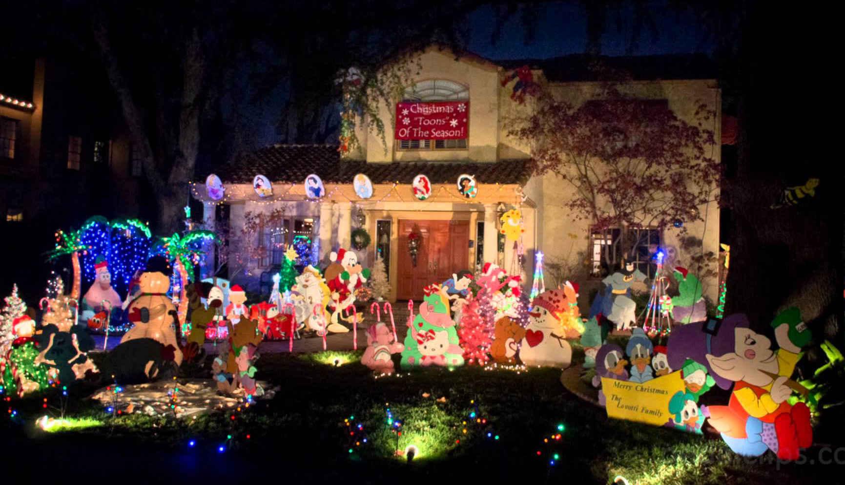 America\'s Best Streets for Christmas Lights | HuffPost Life