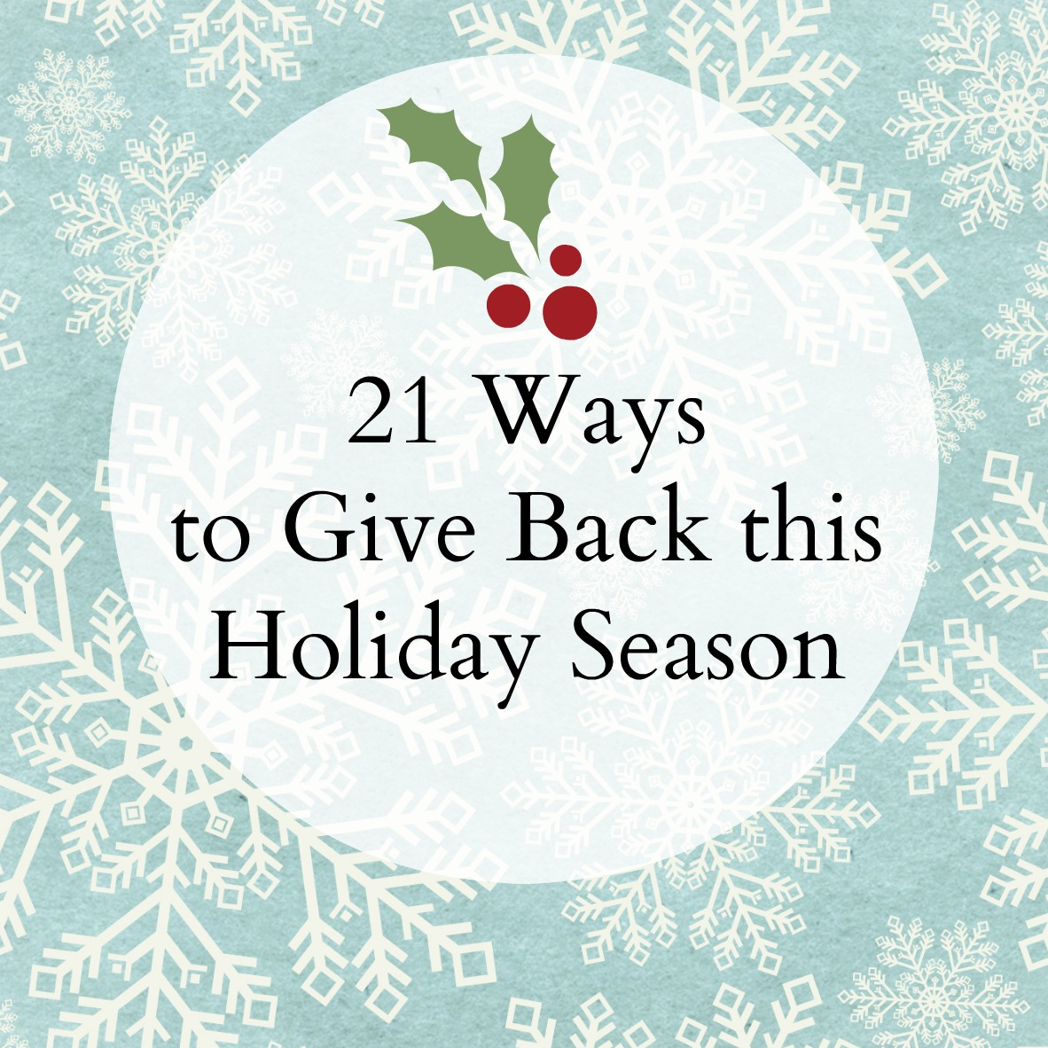 What to give for the holiday