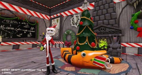 Images Gamers Deck the Virtual Halls of Their Disney Infinity Toy Boxes | HuffPost 3 disney interactive