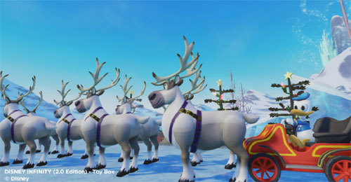 Images Gamers Deck the Virtual Halls of Their Disney Infinity Toy Boxes | HuffPost 7 video game