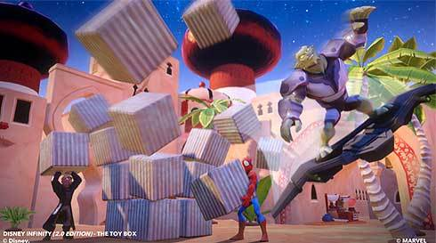 Images Gamers Deck the Virtual Halls of Their Disney Infinity Toy Boxes | HuffPost 5 Avalanche Software