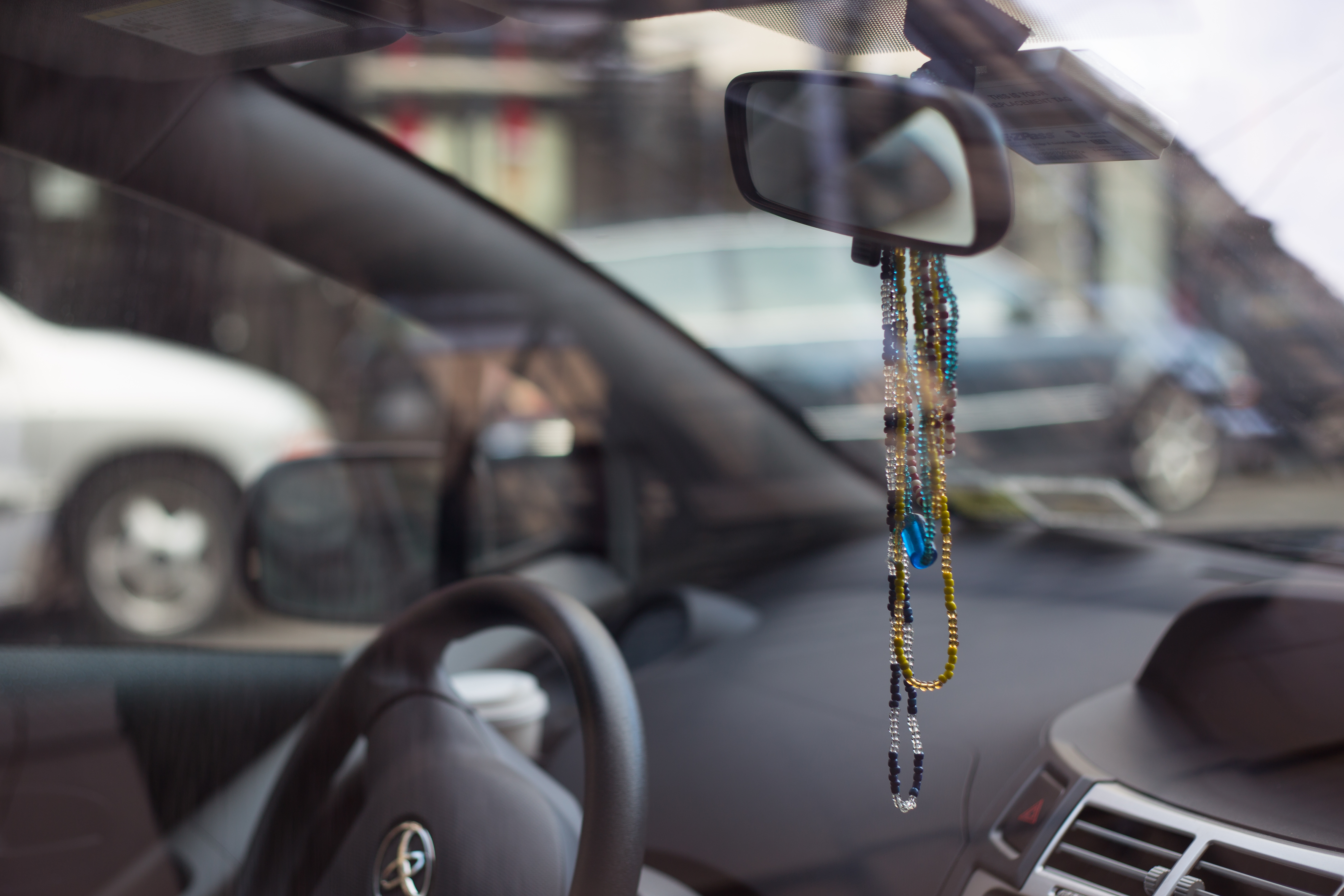 What Do New Yorkers Hang On The Rearview Mirrors Of Their