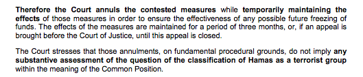 A detail from the General Court's press release