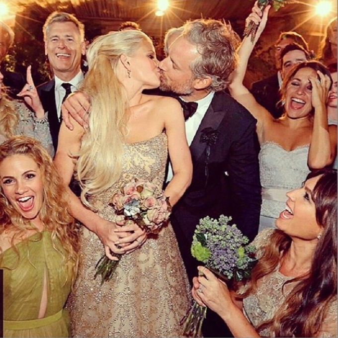 Jessica Simpson Wedding Gown: The Top 10 Celebrity Wedding Moments From 2014