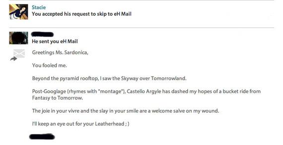 eharmony mail