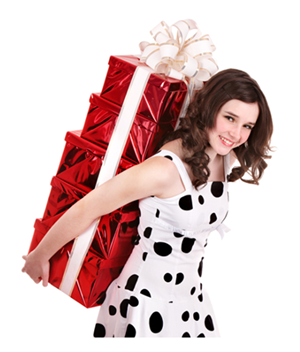 2014-12-21-YoungWomanHoldingStackofGifts.png