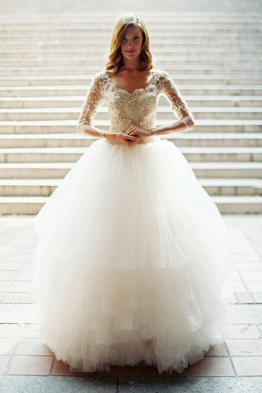 The 25 Most Pinned Wedding Dresses Of 2014 Huffpost Life