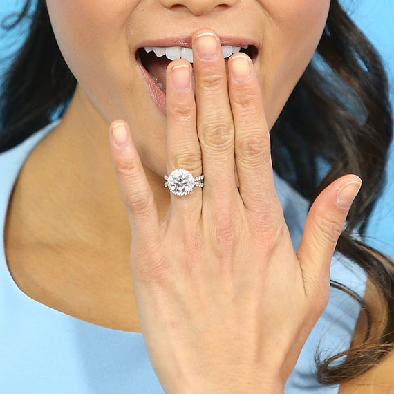 Picture Of Serena Williams Engagement Ring: It's Engagement Season! The 10 Best Celebrity Engagement