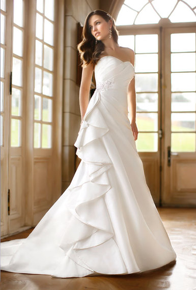 Affordable Wedding Dresses New York : Cheap wedding dress in most of their dresses cost under