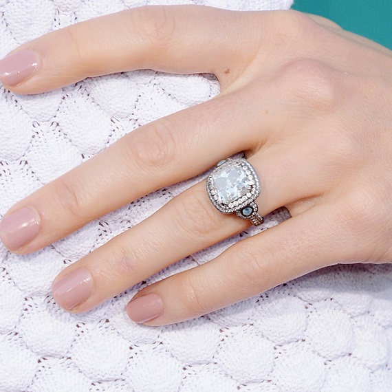 Its Engagement Season The 10 Best Celebrity Engagement Rings