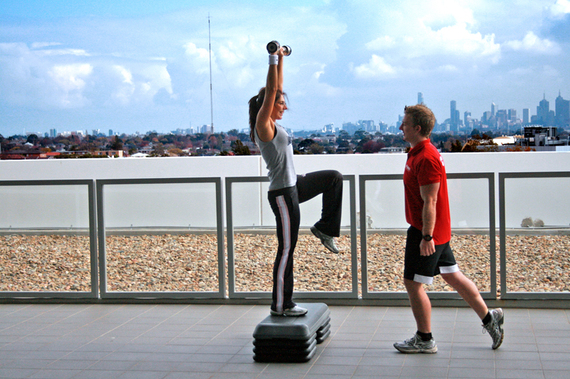 2014-12-27-Personal_Training_Overlooking_Melbourne.JPG