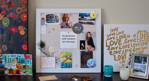 The reason vision boards work and how to make one huffpost for Home design vision board