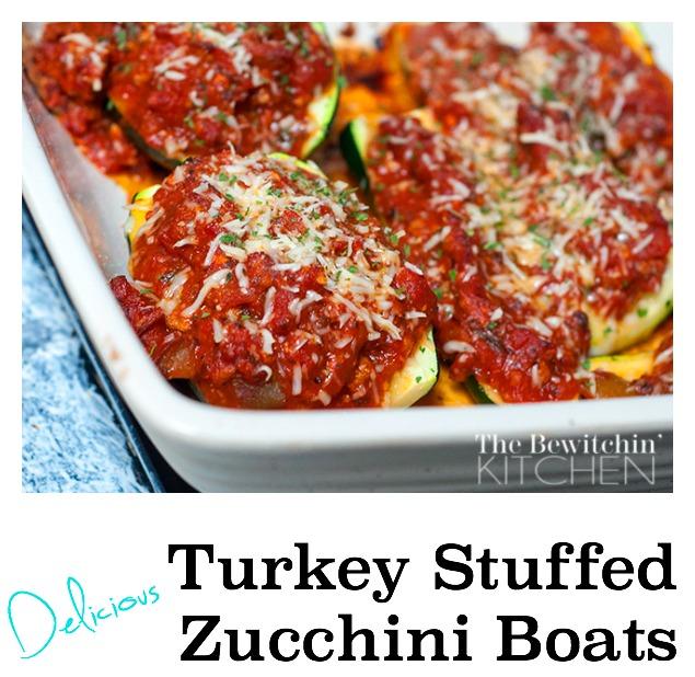 Turkey Stuffed Zucchini Recipe — Dishmaps