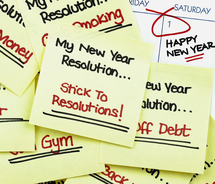 Don't Let Your New Year's Resolutions Come Unstuck | HuffPost