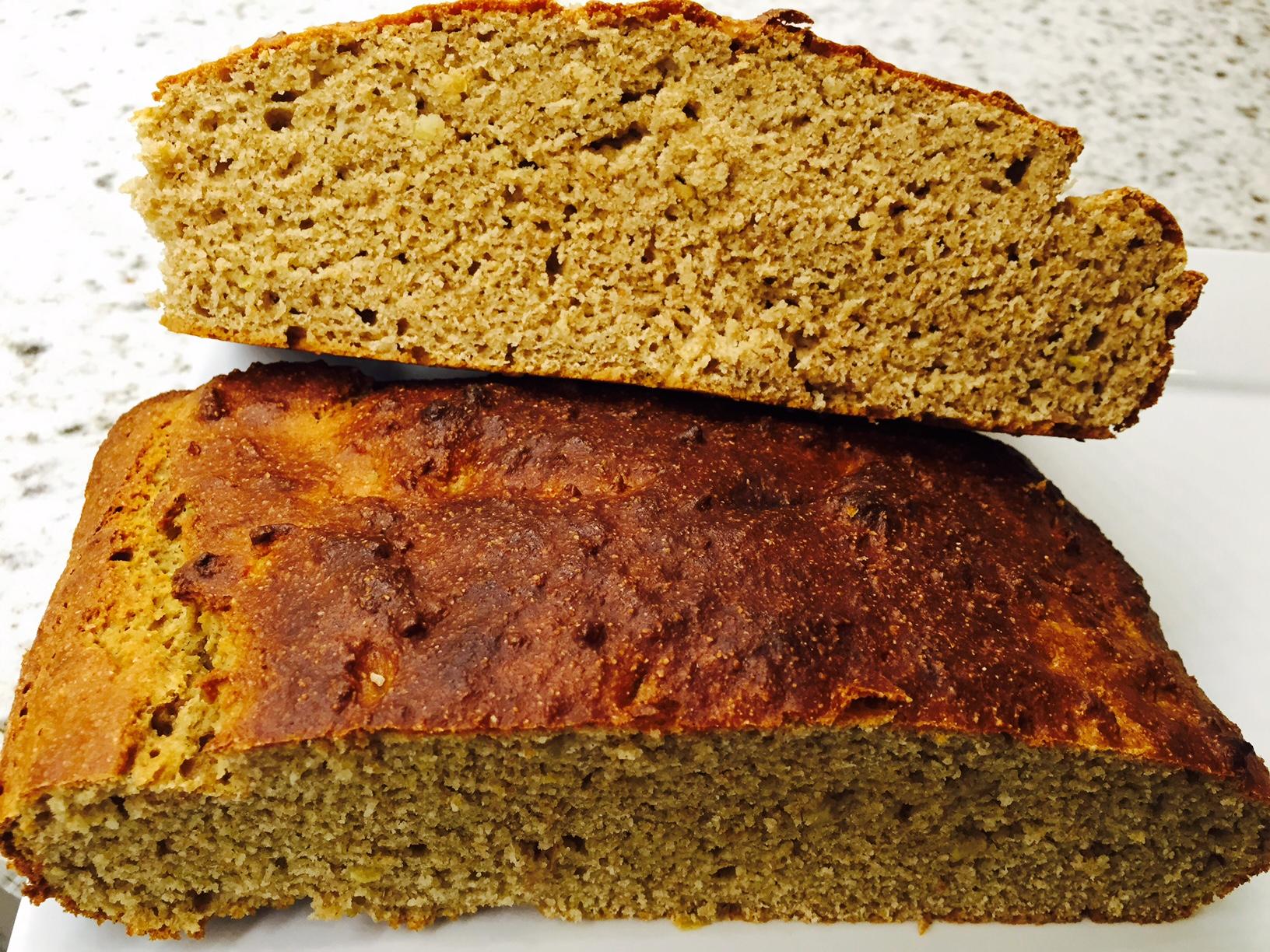 Healthy Ricotta Quick Bread with Creamy Cheese Spread | Layne ...