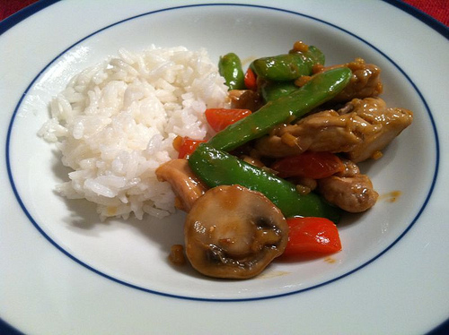 Chicken, Cashews and Snap Peas Stifry