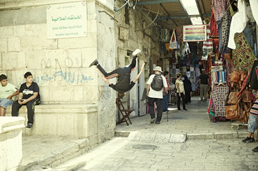 DIG Behind the Scenes in a Jerusalem market
