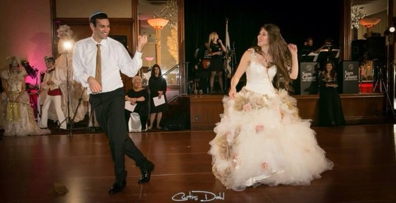 Purpose of train on wedding dress