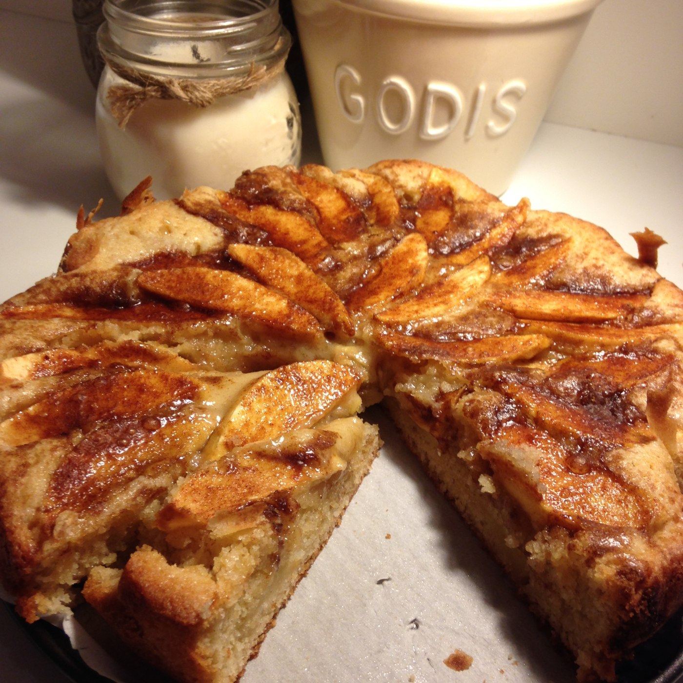 Recipe Norwegian Apple Cake