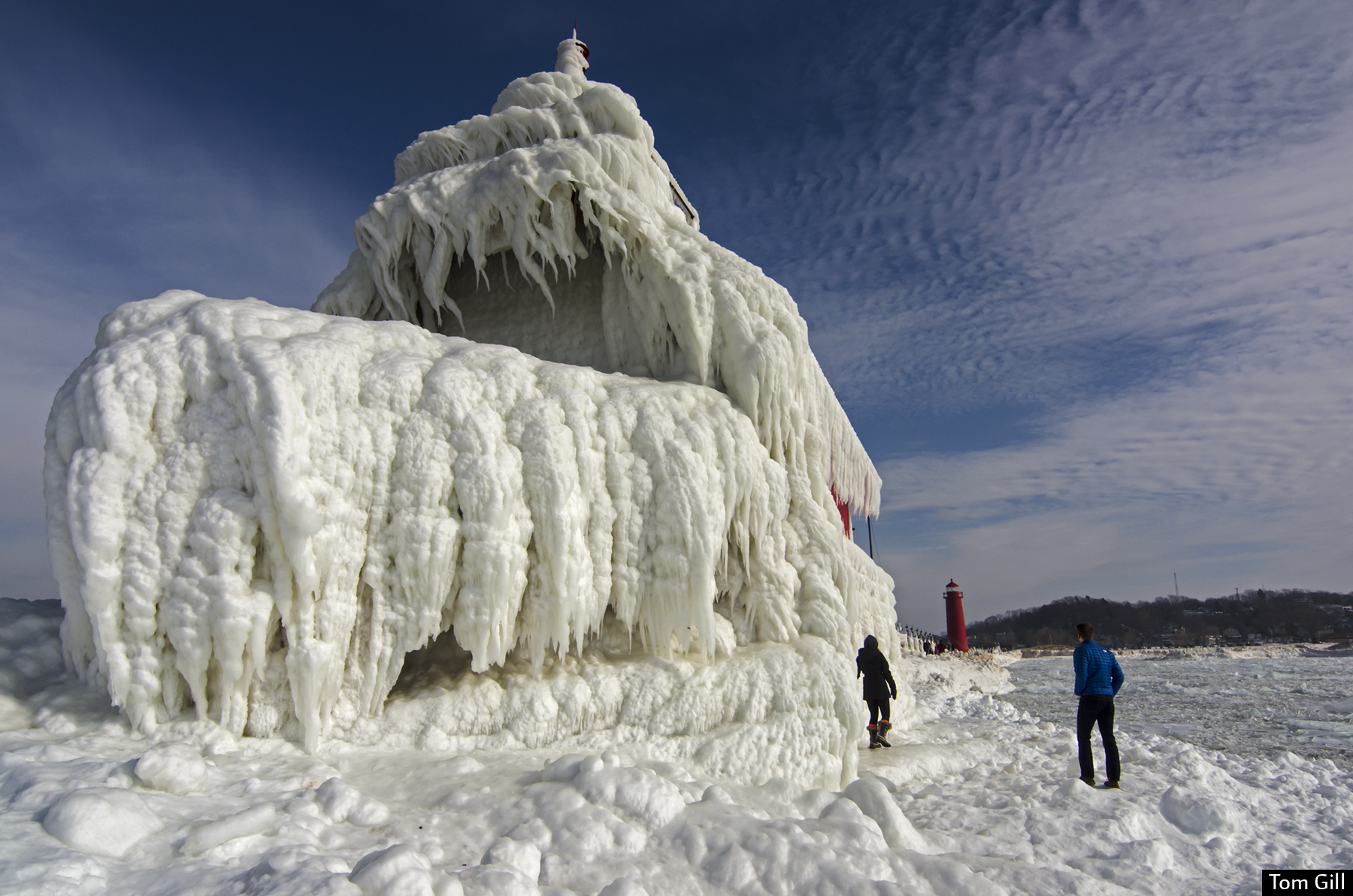 Lake Michigan Has Frozen Over And The Photos Are Chilling