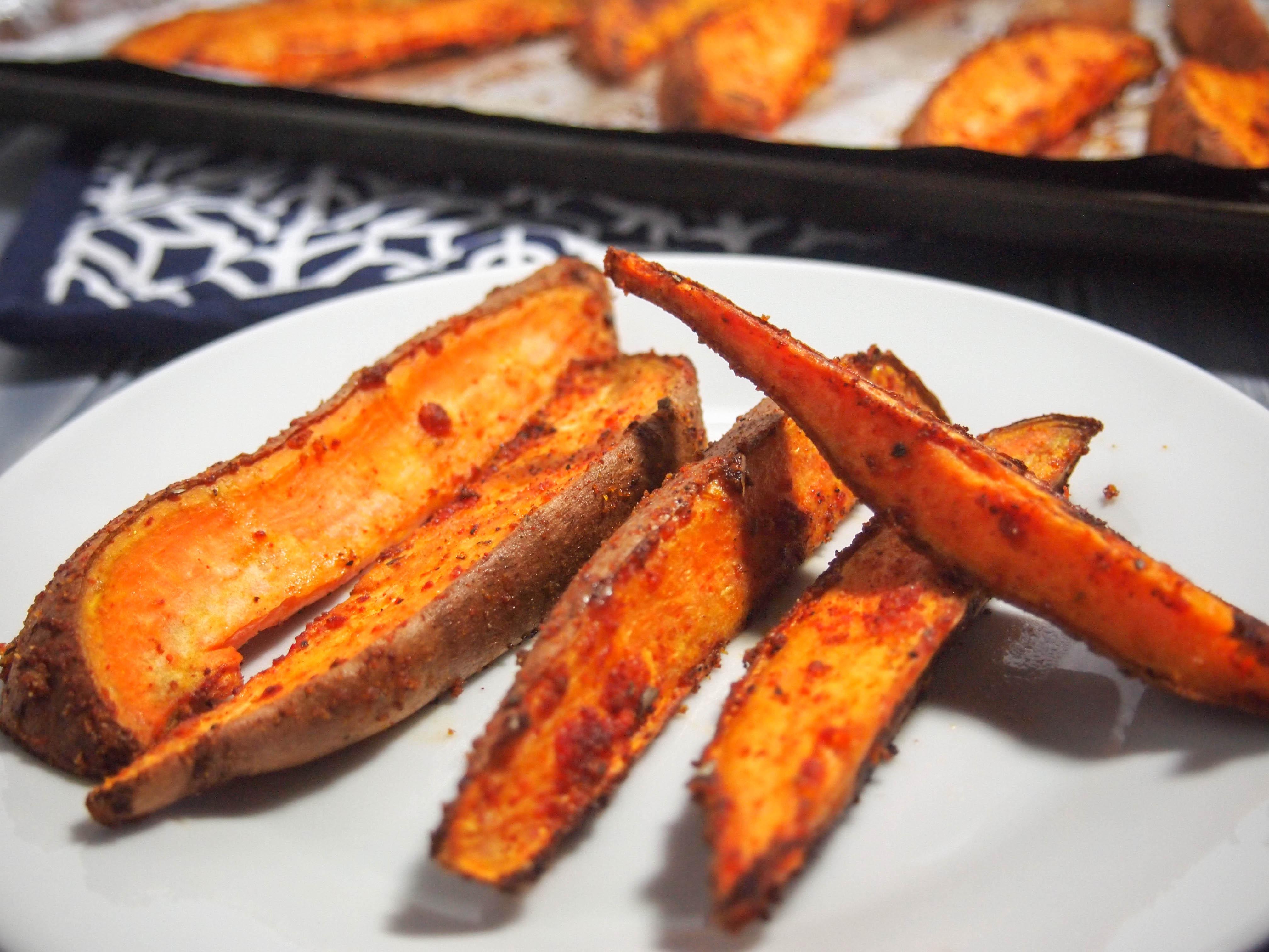 Pour votre v nement super bowl 5 id es de fast food sant - Frite de patate douce au four ...
