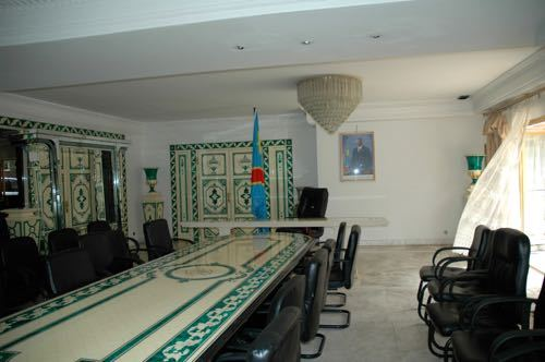 Mobutu's Palace Dining Room