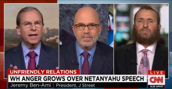 Jeremy Ben-Ami and Rabbi Shmuley Boteach Debate